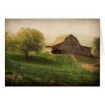 Country Barn Vintage Thank You Greeting Cards