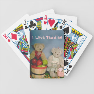 Country Bears - Apple Harvest Bicycle Playing Cards