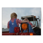 Country Boys with their Tractor Card