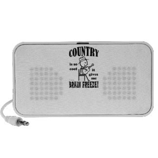 Country Brain Freeze Portable Speakers