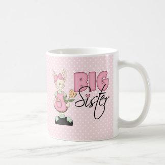 Country Bunny Big Sister (pink) Mug