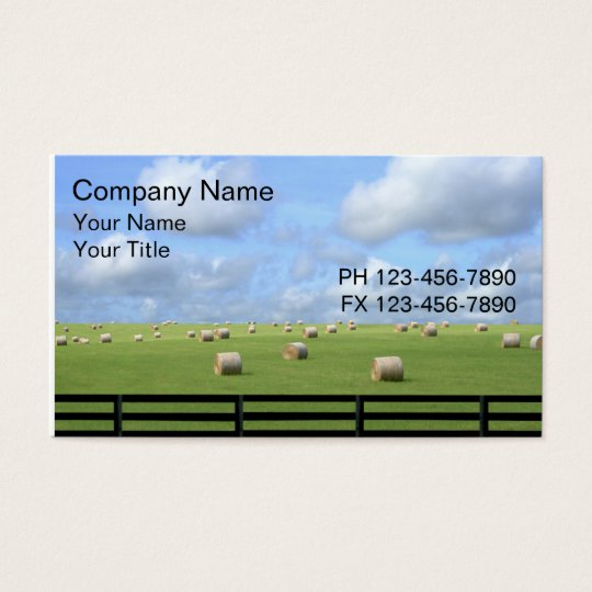 Country Business Cards