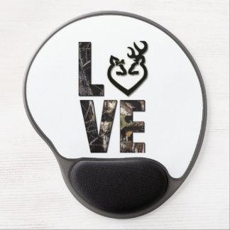 Country Camo Love Gel Mousepad