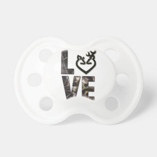 Country Camo Love Pacifier