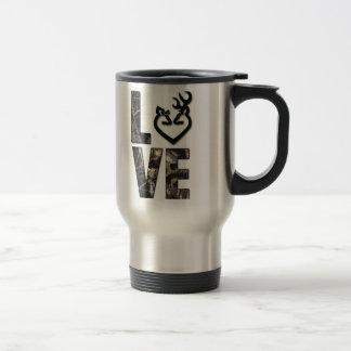 Country Camo Love Travel Mug