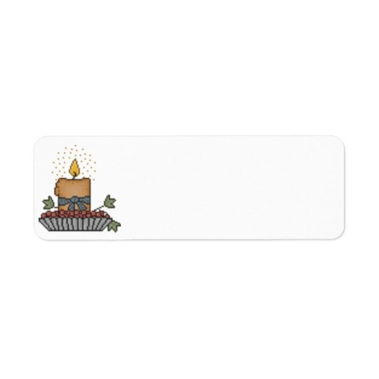 Country Candle Label Return Address Label