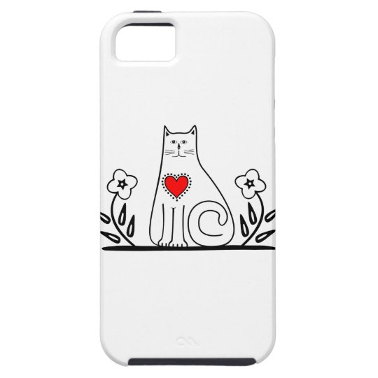 Country Cat Tough iPhone 5 Case
