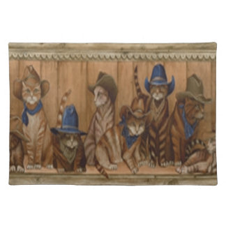 Country Cats Placemat