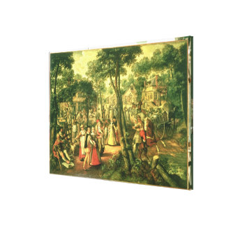 Country Celebration, 1563 Canvas Print