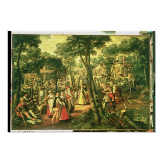 Country Celebration, 1563 Poster