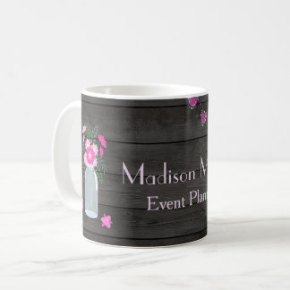 Country Chic Light Strings Event Planner Coffee Mug