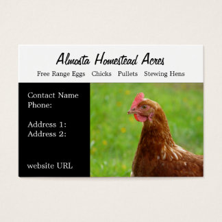 Country Chicken   Business Cards