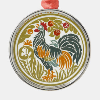 Country Chicken Holiday Tree Ornament