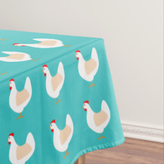 Country Chicken Tablecloth