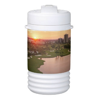 Country Club at sunset, Aventura, Florida Cooler