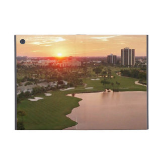 Country Club at sunset, Aventura, Florida Cover For iPad Mini