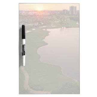 Country Club at sunset, Aventura, Florida Dry Erase Board