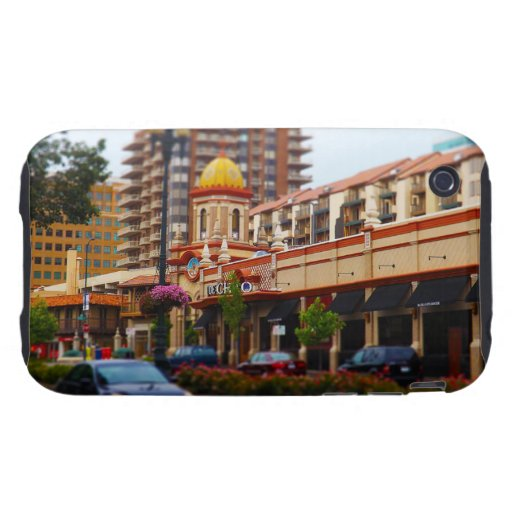 Country Club Plaza 47th Street Kansas City iPhone 3 Tough Cover