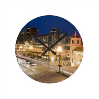 Country Club Plaza Round Clock