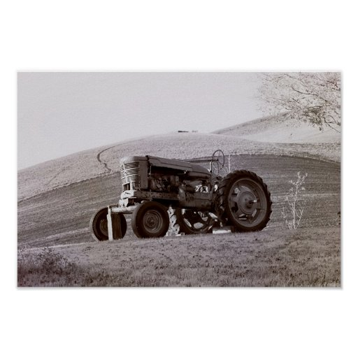 Country Collection - John Deer Poster