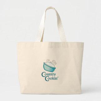 Country Cooking Jumbo Tote Bag