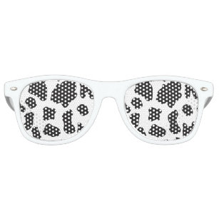 Country Cow Pattern Retro Sunglasses