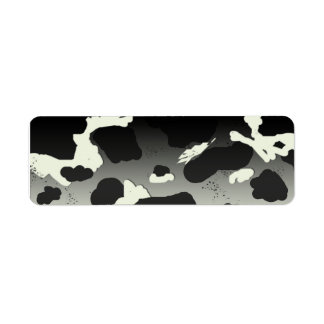 Country Cow Spot 2 Return Address Label