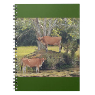 Country Cows Spiral Notebook