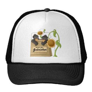 Country Crow Godmother Mothers Day Gifts Cap
