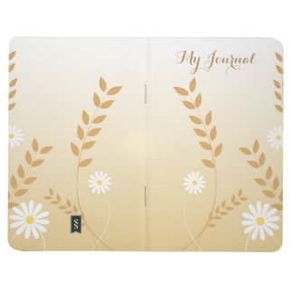 Country Daisies pocket journal