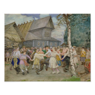 Country Dance, 1917-22 Poster