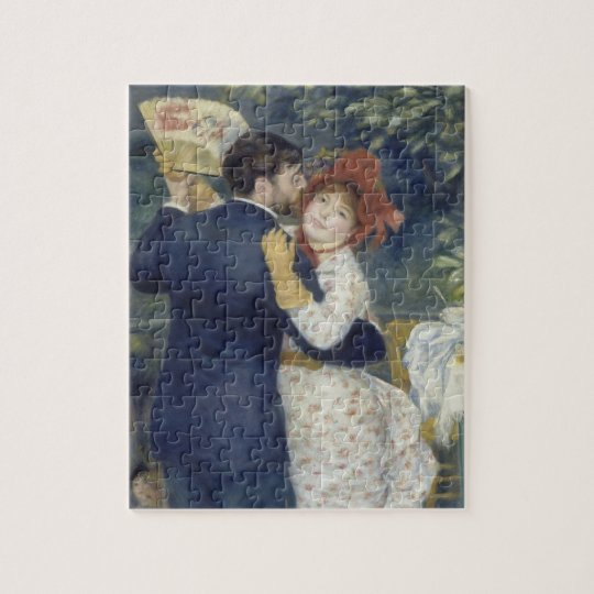 Country Dance by Pierre Renoir, Vintage Fine Art