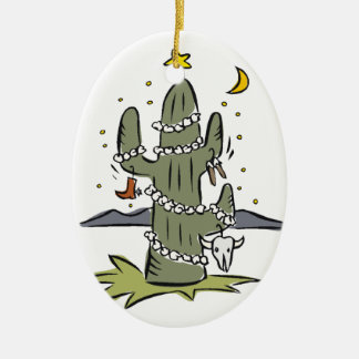Country Desert Christmas Christmas Ornament