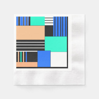 Country. ethnic , national , ethnic , geo , geomet paper serviettes