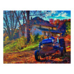Country Farm Art Poster