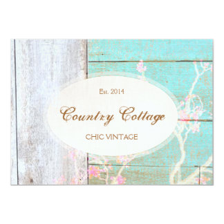 Country Fashion Retail Boutique, Gift Certificate 11 Cm X 16 Cm Invitation Card
