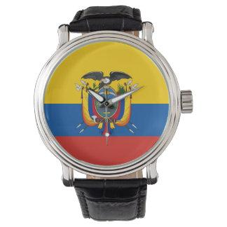country flag ecuador watch