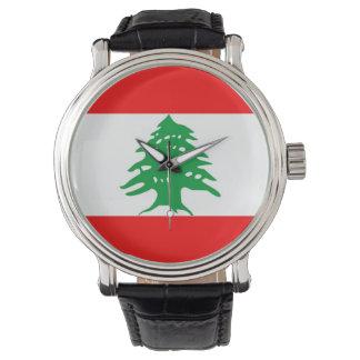 country flag lebanon watch