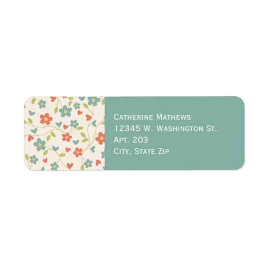 Country Flower Floral Pattern Custom