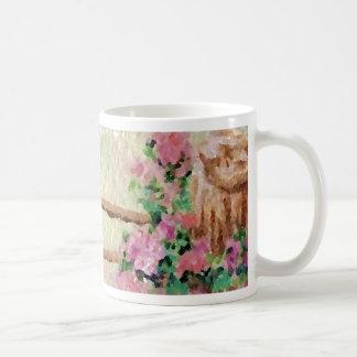 Country Flowers Basic White Mug