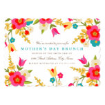 Country Flowers Mother's Day 13 Cm X 18 Cm Invitation Card