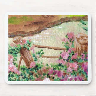 Country Flowers Mousepad