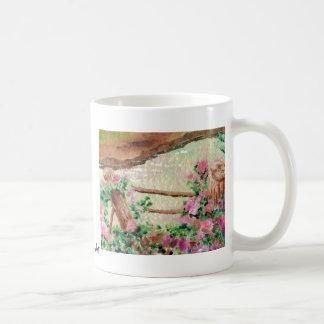 Country Flowers Classic White Coffee Mug