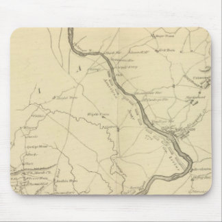 Country from Rariton River in East Jersey Mouse Mat