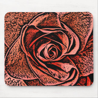 COUNTRY GARDEN FLOWERS MOUSE PAD