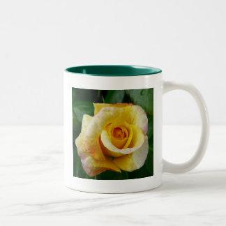 Country Garden Yellow Rose Mug