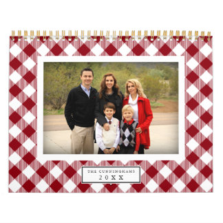 Country Gingham | 2018 Photo Calendar