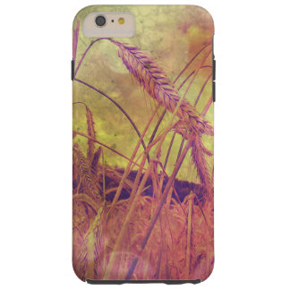 Country Girl, Pink And Gold Wheat iPhone 6 case