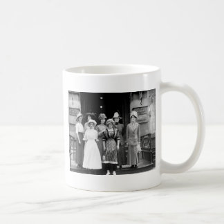 Country Girls Take New York 1910 Coffee Mug