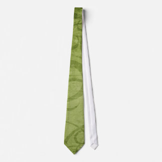 Country Green Grass Silky Mens' Neck Tie